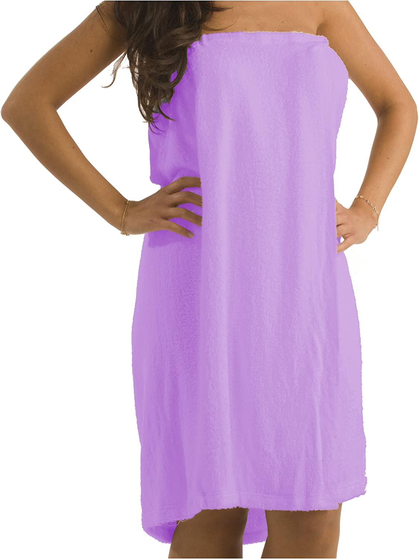 ByLora Ladies make up coverup Wraps, Small Medium, Lavender