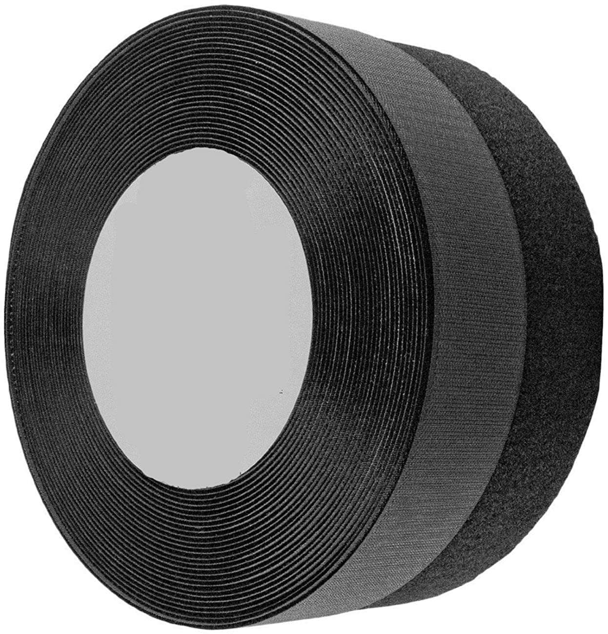wish you have a nice day 1.5 Inches Black Sew on Hook and Loop Fastener Sew (1.5inch, 10 Yards)
