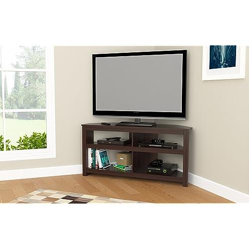 premium selection f9803 aaec5 TV Corner Cabinet: Amazon.com