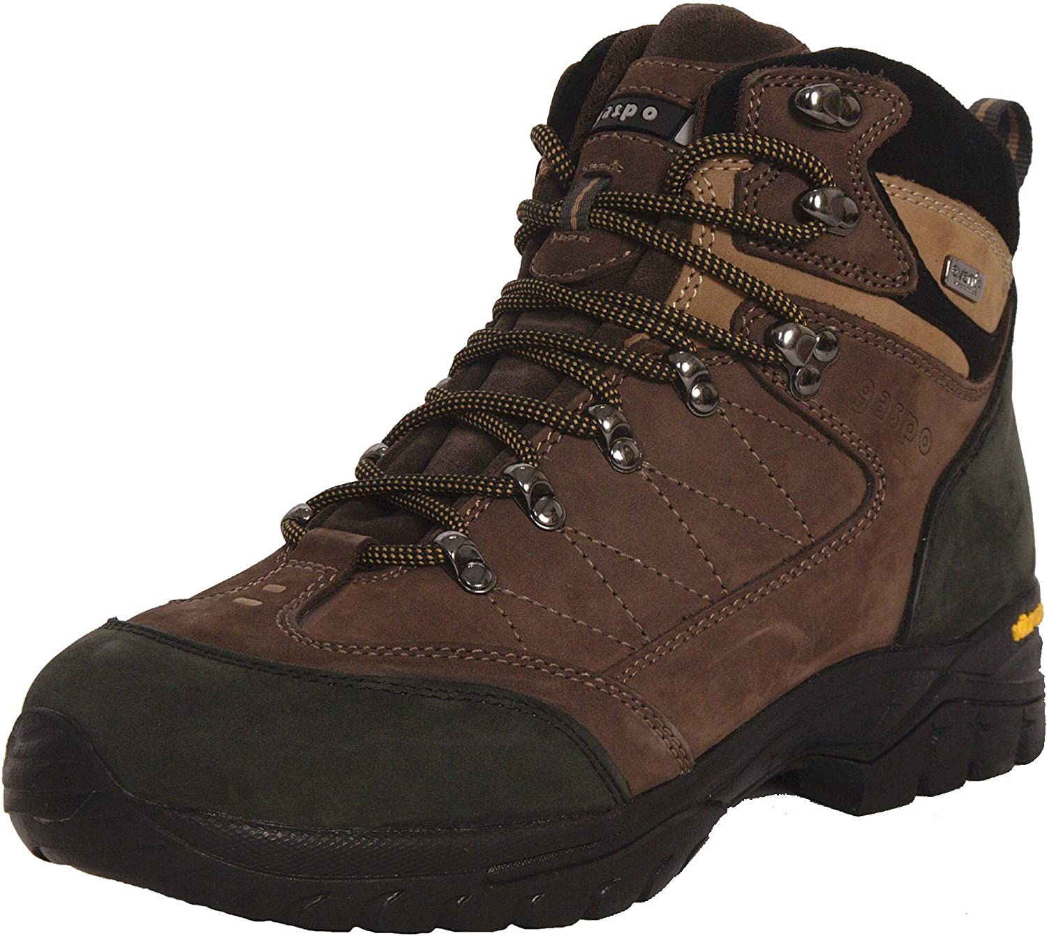 Gaspo Men's Vibram Sole Waterproof Hiking Boot