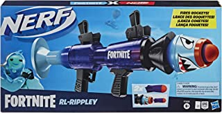 Nerf Fortnite RL-Rippley Blaster -- Fires Big Foam Rockets -- Includes 2 Official Nerf Fortnite Rockets