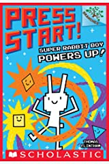 Super Rabbit Boy Powers Up! A Branches Book (Press Start! #2) Kindle Edition