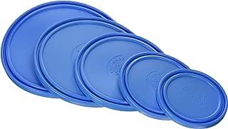 Duralex 8000K/5 Blue Lids for Lys Round Bowls 5-Piece Set