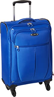 Luggage Mirage Ultralite 20-Inch 4 Wheel Expandable Carry-On, Maritime Blue, One Size