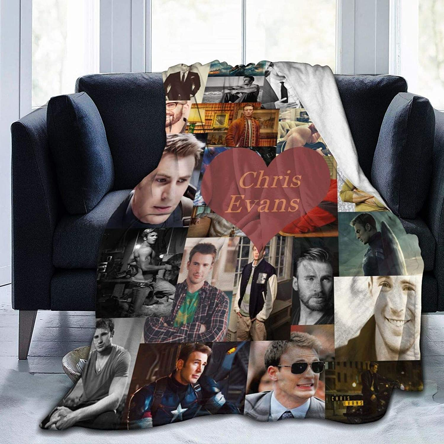 AIMOM Ranking TOP3 Chris Evans Blanket Soft Dealing full price reduction Flannel Cozy Throw Blanke