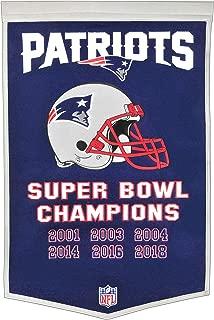 Winning Streak NFL New England Patriots Unisex New England Patriots IF Win SB BannerNew England Patriots IF Win SB Banner, Navy, Banner