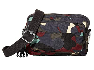Kipling Multiple Convertible Waistpack (Camo) Handbags