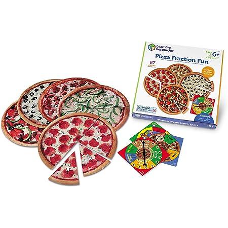 ラーニングリソーシズ 算数教材 分数ゲーム ピザ 6歳から LER5060 正規品