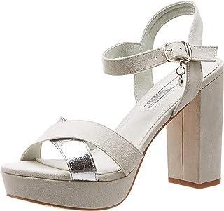 XTI 32055, Zapatos con Tira de Tobillo para Mujer