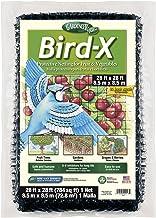 Dalen BN-3 Gardeneer Bird-X Protective Netting 28' x 28' (1 Pack) (100055857) , Black