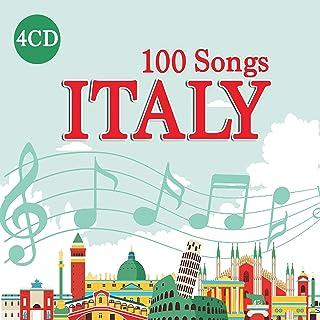 4 CD 100 Songs Italy, Best Italian Music, Luciano Pavarotti, Maria Callas, Mina, Domenico Modugno …