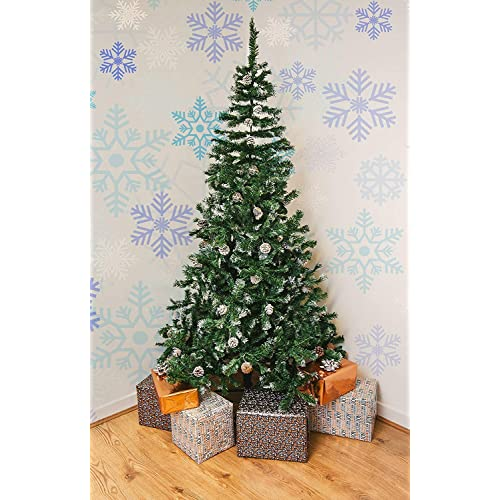 Snow Covered Christmas Tree: Amazon.co.uk