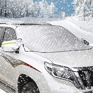 Lluvia Mnegro Cleme Funda Protectora para Coche Resistente al Calor Nieve ATV Medium Resistente al Agua Universal Negro Polvo