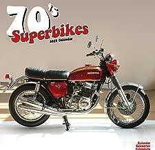 70's Superbikes Calendar - Calendars 2018 - 2019 - Motorcycle Calendar - 16 Month Wall Calendar by Avonside