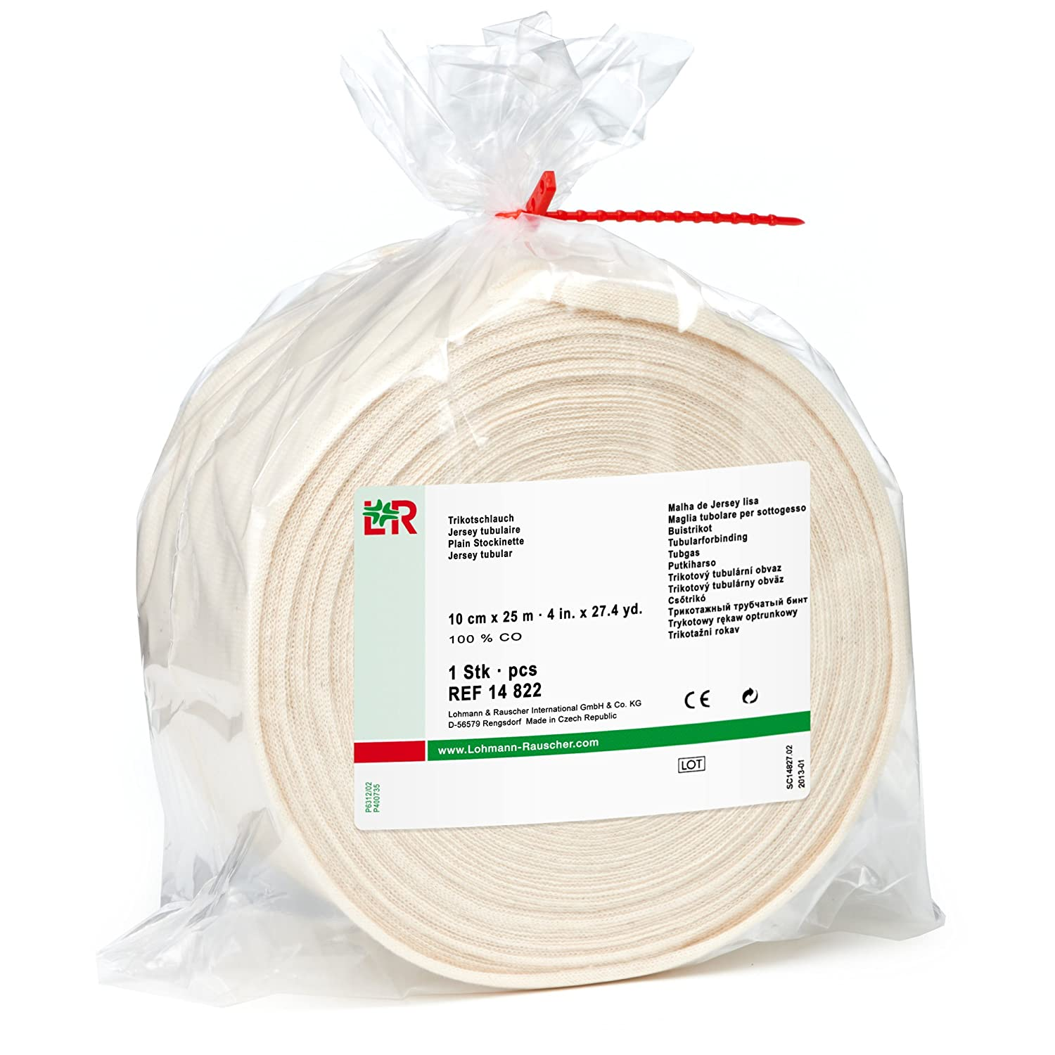 Lohmann Bombing free shipping Manufacturer direct delivery Rauscher-25758tg Cotton Tubul Stockinette 100%