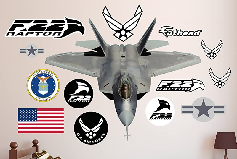 FATHEAD F 22 Raptor Real Decals