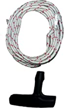 4mm Diameter Stihl Recoil Starter Rope (6 Feet) and Starter Handle Pull Cord 2 Piece Bundle