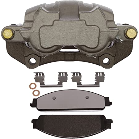Remanufactured Loaded ACDelco 18R2558 Professional Front Driver Side Disc Brake Caliper Assembly with Pads