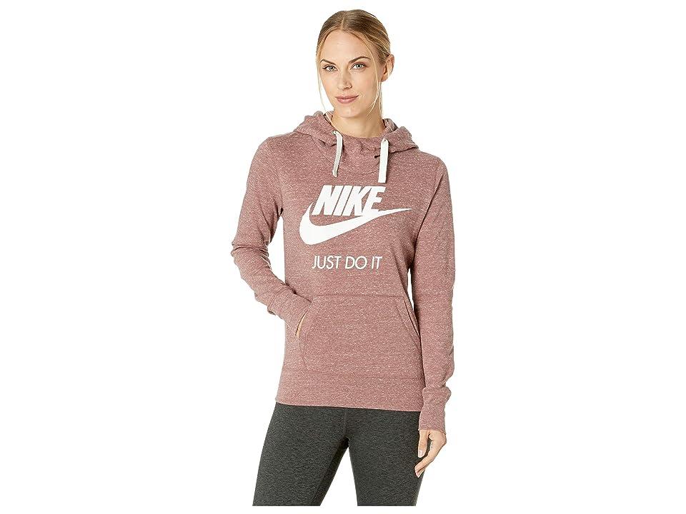 Nike Sportswear Gym Vintage HBR Hoodie (Smokey Mauve/Sail) Women