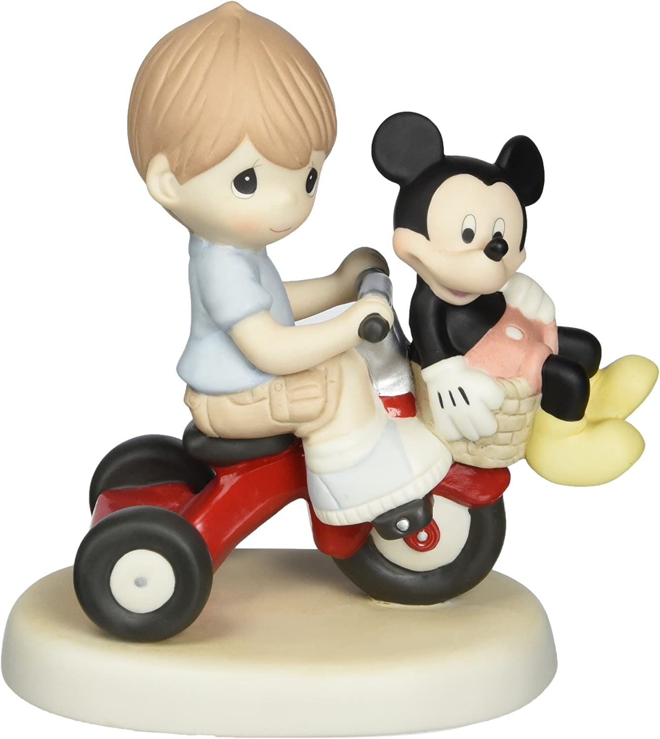 Precious Moments, Disney Showcase Collection, There's Always Room For A Friend, Bisque Porcelain Figurine, Boy, 139012