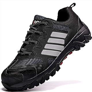 ASHION Chaussures de Sécurité Baskets Chantiers et Industrie pour Homme Chaussures de Travail Anti-Perforation