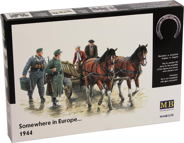 Masterbox 1 35  Somewhere in Europe 1944  MAS3538