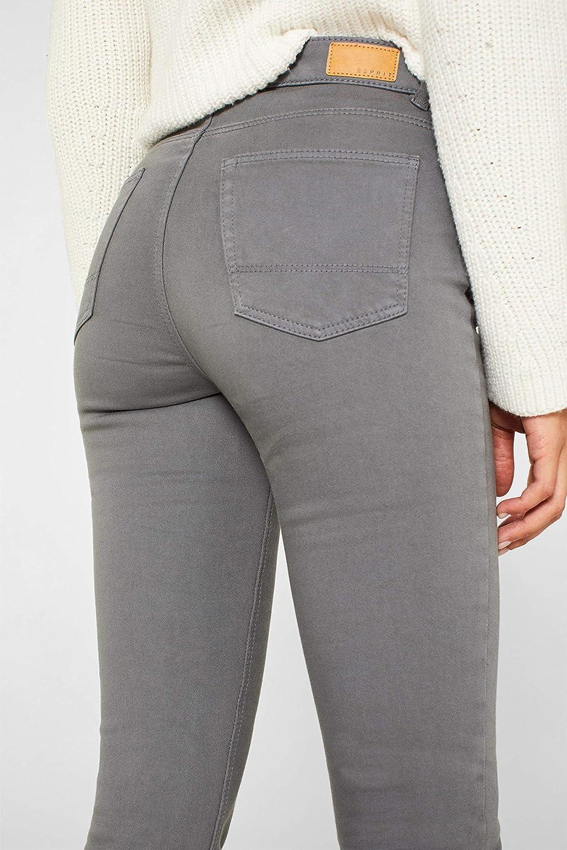 Esprit Pantalon Femme Gris (Grey 030)