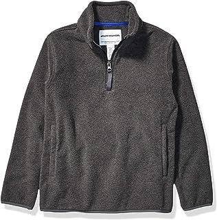 Amazon Essentials Quarter-Zip Polar Fleece Jacket Bambino