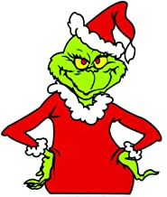 Grinch that Stole Christmas Sticker Decal Dr. Seuss Outdoor Durable 4.5t x 3.75w