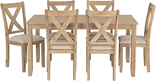 Standard Furniture Langston Dining Set, Light Brown