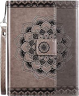 Urhause Funda Compatible con Huawei P10 Lite Carcasa Libro con Tapa Flip Case PU Cuero Billetera Magnético Cartera Soporte...