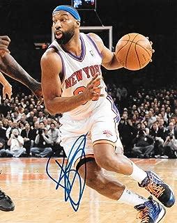 Signed Baron Davis Photo - 8x10 UCLA - Autographed NBA Photos