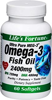 Life's Fortune Ultra Pure Omega-3 60ct