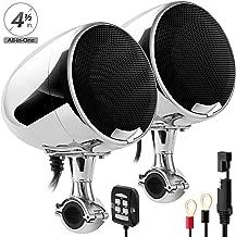 Best 4 motorcycle speakers Reviews