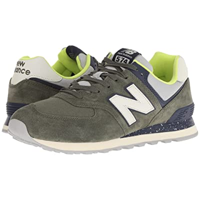 New Balance Classics ML574v2 (Covert Green/Pigment) Men