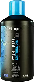 Granger's Clothing Wash + Repel For Outerwear / 1 ltr / Clean and waterproof in your home washing machine / Made in England