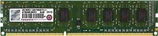 Transcend JetRam 2 GB 240-Pin DDR3 Desktop DIMM 1600 MHz (PC3-12800) Desktop Memory Module JM1600KLN-2G