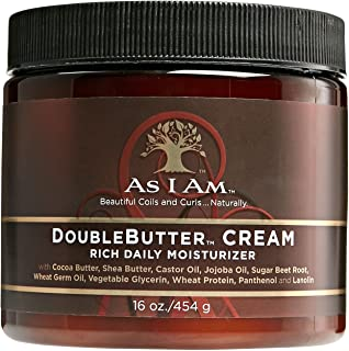 As I Am Double Butter Rich Daily Moisturizer, 16 Ounce