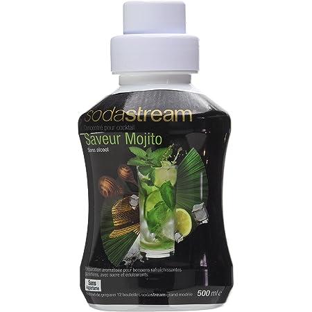 Sodastream Concentré Saveur Mojito – Concentré pour Cocktail Sans Alcool – Sans Aspartame – 500 ml