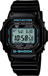 G-Shock Black X Blue Series (GW-M5610BA-1JF) 6 MULTIBANDS Solar Powered Men's Watch