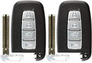 KeylessOption Keyless Entry Remote Smart Car Key Fob for Hyundai Kia 95440-3X200, SY5HMFNA04 (Pack of 2)