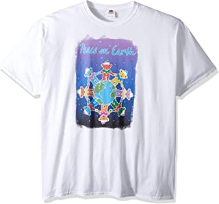Liquid Blue Grateful Dead Dancing Bears Peace on Earth Short Sleeve Tee