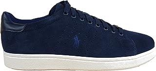 Ralph Lauren Sneakers Wilton pelle scamosciata blu navy