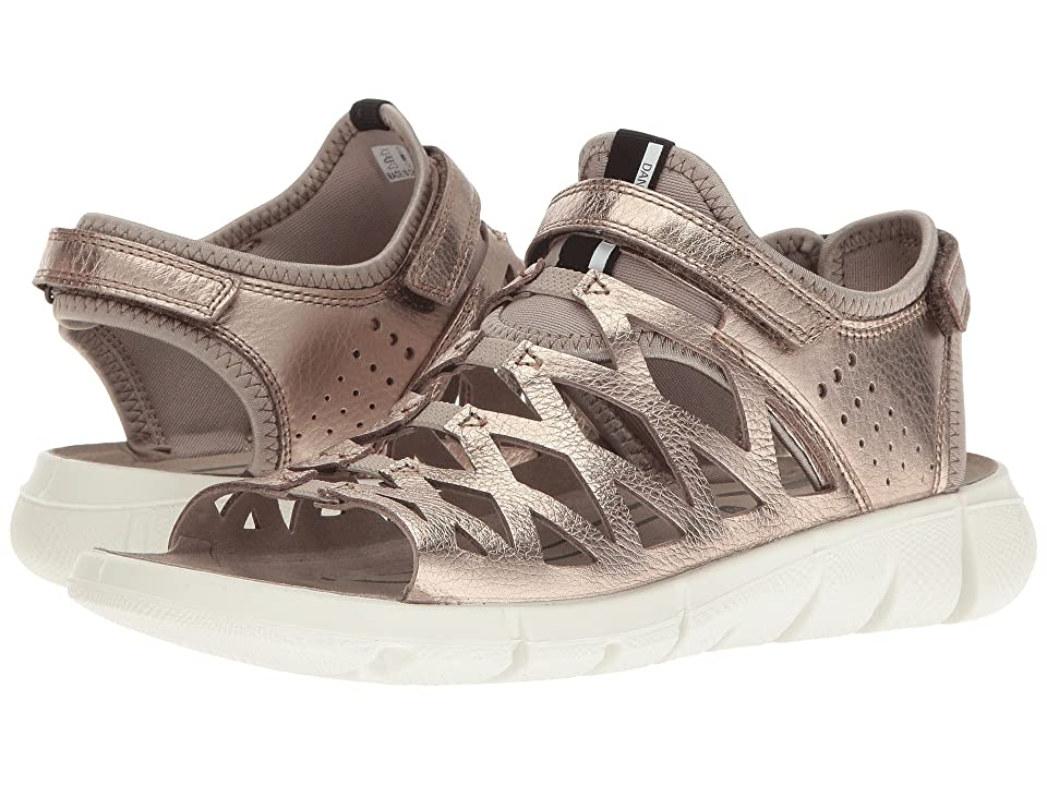 ECCO Sport Intrinsic Sandal 2 (Warm Grey/Metallic/Moon Rock) Women