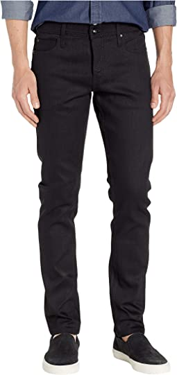 Tight in 11 oz Solid Black Stretch Selvedge