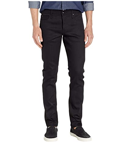 The Unbranded Brand Tight in 11 oz Solid Black Stretch Selvedge (11 oz Black Stretch Selvedge) Men