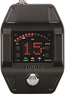 Shure GLXD6 Single Channel Wireless Receiver (Guitar Pedal), Z2