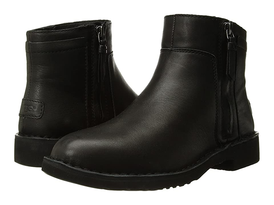 UGG Rea Leather (Black) Women