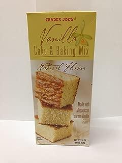 Trader Joe's Vanilla Cake & Baking Mix