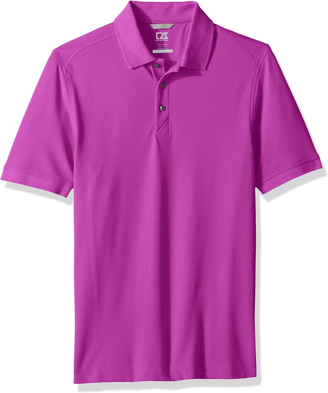 Cutter & Buck Men's 35+ UPF Short Sleeve Lightweight Cotton Advantage Polo Shirt